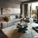 Urban Outfitters Rugs for Contemporary Living Room