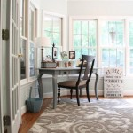 Home Depot Rugs with Eclectic Home Office and Sunroom