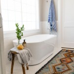 Home Depot Rugs with Farmhouse Bathroom and Midcentury