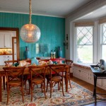 Pottery Barn Rugs with Tropical Dining Room and Bay Window