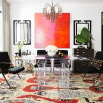 4x6 Area Rugs with Contemporary Home Office and  Sari  Tribal     Made in India  Loloi  Knotted