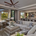 4x6 Area Rugs with Transitional Family Room And