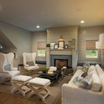 Area Rugs 8x10 with Transitional Living Room and  Fireplace  Area Rug  Gray  Great Room  Industrial