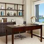 Area Rugs Home Depot with Transitional Home Office and  Open Shelves  Home Office Cabinetry  Home Office View  Wood Cabinets     Rustic Wood Office