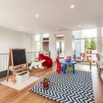 Area Rugs Ikea with Contemporary Kids and  Metal Railing  Ceiling Lighting  Storage Cubbies     Recessed Lighting  Easel