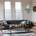 Area Rugs Lowes with Midcentury Living Room and  Wall Clock  Danish Furniture  Cowhide  Mid Century Modern  Wooden Dining Table