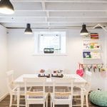 Arts and Crafts Rugs with Contemporary Kids and  Workstation     Justine Sterling Design  White Ceiling Beams  Contemporary  Kids