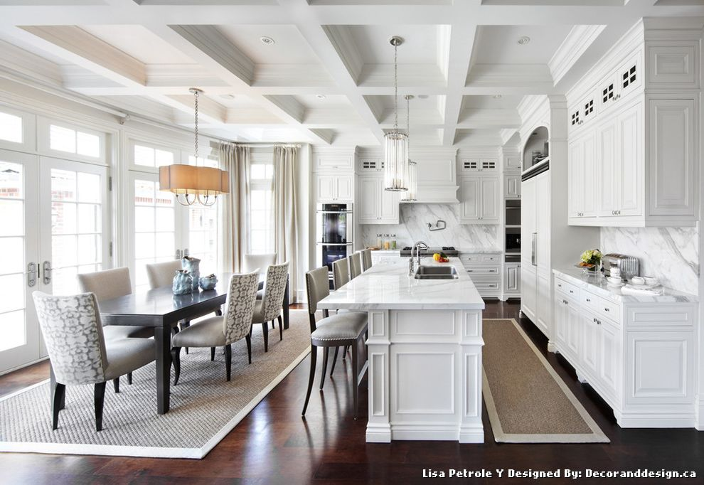 Ballard Designs Rugs with Traditional Kitchen and Transom ...