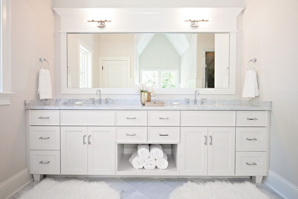 Bathroom Rug Sets With Contemporary Bathroom And Double