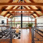 Bfg Rugged Terrain with Farmhouse Home Office and  Office     Beams  Loft