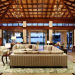 Big Lots Rugs with Asian Living Room and  Clerestory Windows  Large Print Area Rug  Coffered Ceiling  Asian Inspired Furniture  Asian Inspired