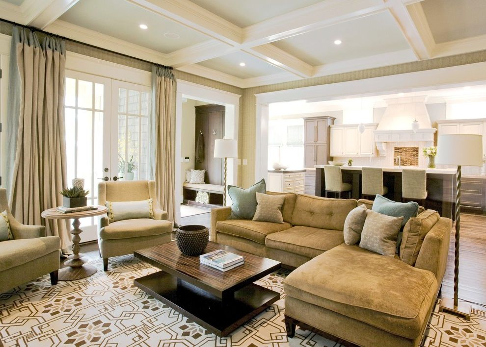 Cheap large area rugs with traditional living room and for Living room lighting ideas traditional