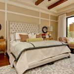 Cheap Rugs Online with Transitional Bedroom and  Light  Luxury  Sliding Glass Doors  Gold  Transitional