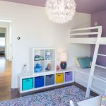 Colorful Area Rugs with Contemporary Kids and  Baskets  Table Lamp  Pendant Light  Bedroom  Shelves