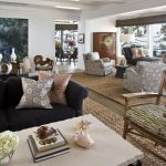 Cut a Rug with Contemporary Living Room and  Kitchen  Living Room  Natural Fiber Rug  Irvine  Beach Home