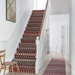 Drug Rug Hoodie with Traditional Staircase and  Wooden Floor     Colour  Staircase Carpet  Rug Runner  Pattern