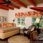 Eton Rugged Rukus with Eclectic Bedroom and  Ceiling Fans  Asian  Hawaii  Black Accents  Stripes