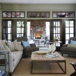 Home Decorators Rugs with Traditional Family Room and  Wall Decor  Wood Trim     Clerestory  Wood Coffee Table  Area Rug