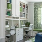 Home Goods Area Rugs with Transitional Home Office and  Green Curtains  Study  Two Person Office     Homework Room  Green Area Rug