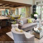 Home Goods Area Rugs with Transitional Living Room and  White Window Grids  French Country  Yellow Dining Chairs  White Garden Stool  Gray Sofa