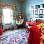 Jc Penney Rugs with Eclectic Kids and  Wall Art  Curtains  Gallery Wall  Area Rug  Window Treatments