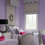 Land of Nod Rugs with Transitional Kids and  White Casing     Table Lamp  Drum Shade  Silver  Purple