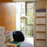 Ll Bean Rugs with Contemporary Kids and  Floor Lamp  Loft Bed  Chest of Drawers  Wood Flooring     Bean Bag Chair