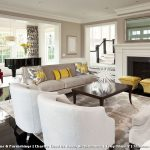 Martha Stewart Rugs with Transitional Living Room and  Black  Area Rug  Window Treatment  Decorative Pillows  White