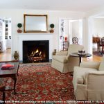 Oriental Rug Cleaning with Traditional Living Room and  Area Rug  Wood Coffee Table  Potted Plants  Wood Flooring  Topiary