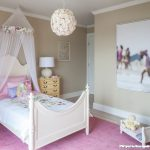 Pink Area Rug with Transitional Kids and  Photography  Pink Area Rug  Toys  White Molding  Girls Room