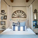 Pom Pom Rug with Beach Style Bedroom and  Beach Style Design  Sheer Curtains     Beach Cottage  Distressed Art  Beach Style House