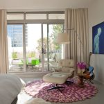 Rent a Rug Doctor with Modern Bedroom and  Sheepskin Rug  Wall Decor     Roof Terrace  Modern Icons  Round Rug