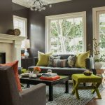 Rooms to Go Rugs with Transitional Living Room and  Jonathan Adler X Bench  Annie Lowengart  Colorful  Mantel  Colors