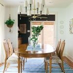 Rug Cleaning Nyc with Eclectic Dining Room and  Art  Animal Print Chair  Glass Vessels  Charcoal  Hanging Plant