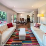 Rug Cleaning Nyc with Modern Living Room and  White Leather Sofa     Couches  Hardwoods  Dining Table  Colorful
