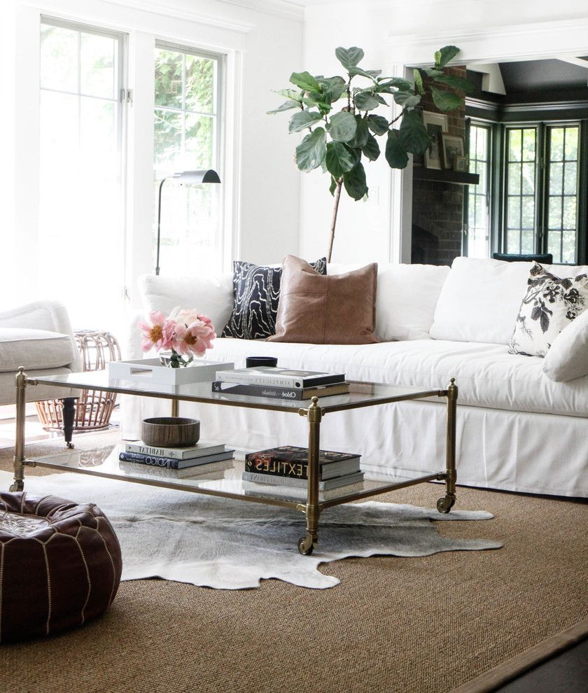 Rugged Ridge Wheels With Farmhouse Living Room And All White Living