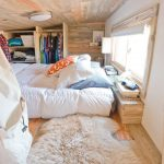 Rugs at Lowes with Contemporary Bedroom and  Roller Blind  Rv  House on Wheels  Sheepskin  Wood Ceiling