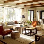 Rugs at Lowes with Traditional Living Room and  Throw Pillows  Armchair  Grasscloth  Long Sofa  Timbers