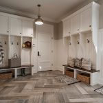 Rugs at Target with Transitional Entry and  Built in Cabinetry  Paneled Walls  Wicker Baskets     Pendant Light  Lots of Storage