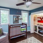 Rugs at Target with Transitional Nursery and  Kids Room  Renovation  Second Story Addition  Austin  White Oak Floor