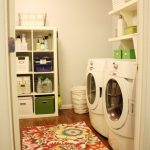Rugs for Cheap with Eclectic Laundry Room And