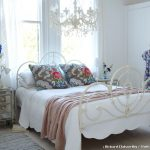 Shabby Chic Rugs with Shabby Chic Style Bedroom and  Shabby Chic  Floral Throw Pillows  Built in Wardrobe  Crystal Knobs  Bedroom Colour Scheme