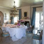 Shabby Chic Rugs with Shabby Chic Style Dining Room and  Elegant  Dining Tables  Aubasson Rug  Petticoat  Shabby Chic