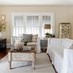 Shabby Chic Rugs with Shabby Chic Style Family Room and  Shutters  Neutral  Windows     Area Rug  My Houzz