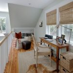Square Area Rugs with Tropical Home Office and  Sisal Rug  Narrow Desk  Built in Bookcase  Zigzag Throw     Organization