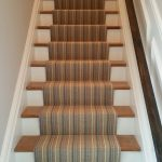 Stair Tread Rugs with Modern Staircase and  Rug for Stairs  Vertical Stripes Stairs     Patterned Stair Tread Rugs  Dark Brown Stair Tread Rugs  Rugs for Stairs