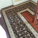 Stair Tread Rugs with Traditional Hall and  Diamond Patterned  Dark Brown Stair Tread Rugs  Staircase  Brown on White  Rug for Staircase