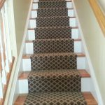 Stair Tread Rugs with Transitional Staircase and  Staircase  Runners & Stair Runners  Rugs for Stairs  Commercial  Brown Stair Runners