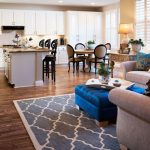 The Rug Market with Eclectic Family Room And