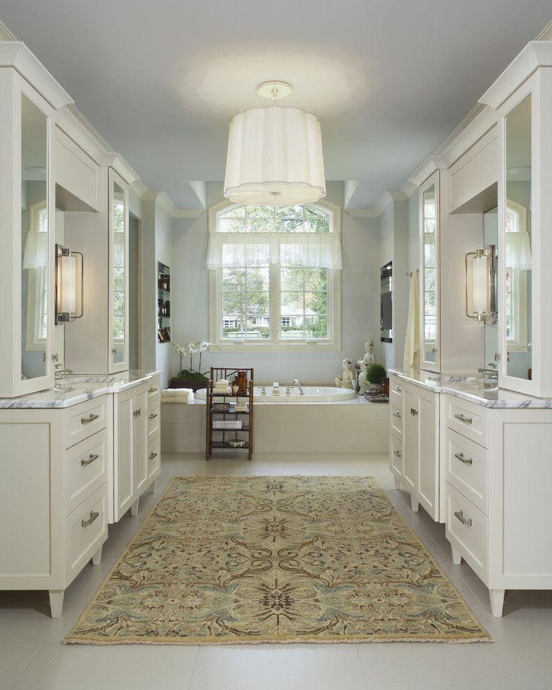 Tuesday Morning Rugs with Contemporary Bathroom and Bathroom Rug Ceiling Lighting Pendant White Bathroom Freestanding Vanity